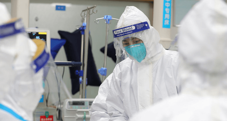 Doctors treated Corona